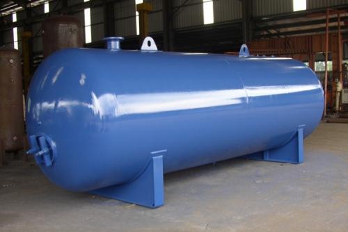 12m3 Horizontal Air Receiver Tank