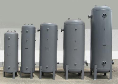 Standard Vertical Air Receiver Tank