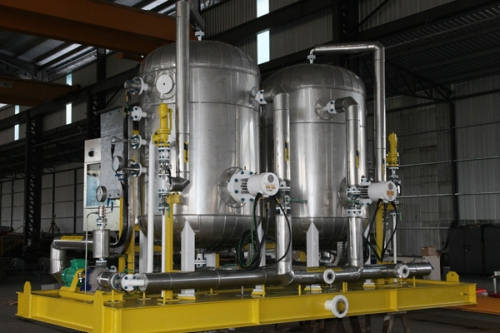 Stainless Steel 316L Skid Package for Petronas Malaysia